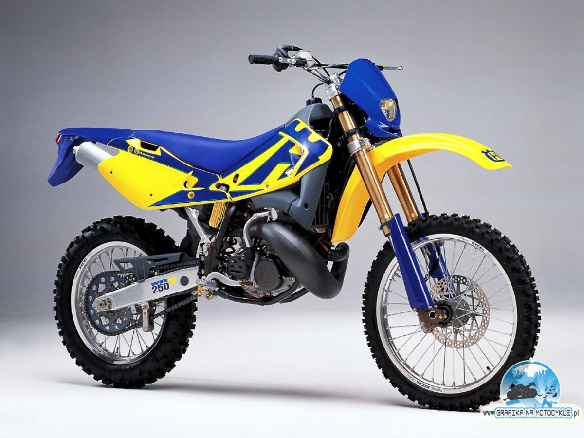 Husqvarna Wr 250 Blue