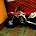HONDA CR 85 2006 Rockstar red
