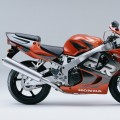 Honda - CBR 900  Fireblade 1998 orange