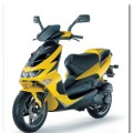 APRILIA SR DI-TECH yellow