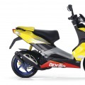 Aprilia SR 50 R Factory yellow lemon