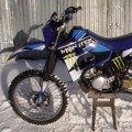 Yamaha dt 125 old- monsterblue