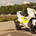 YAMAHA AEROX yellow MM