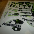 Kawasaki KX 125 i 250 1994 - 1998 monster78