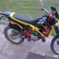 APRILIA RX YELLOWred