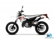 Yamaha dt 50 X red-white