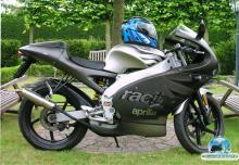 APRILIA RS 50   Racing black