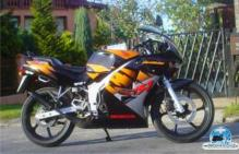 HONDA NS-1 orange