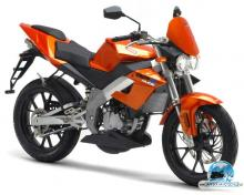 DERBI GPR NUDE 50 orange 2006