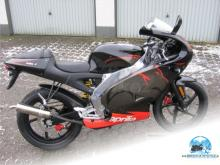 APRILIA RS 50   diablo black