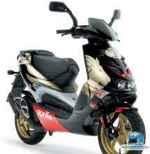 APRILIA SR DI-TECH blackgold