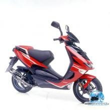 APRILIA SR DI-TECH red