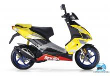 Aprilia SR 50 R Factory yellow