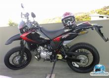 Yamaha dt 125 - Red X
