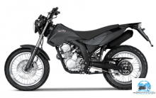 DERBI CROSS black