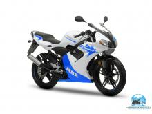 MBK X-POWER 2008 whiteBLUE