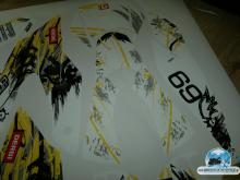 Derbi SENDA DRD 125 4S yellow