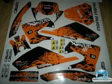 DERBI SENDA XRACE ORANGE