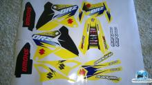 SUZUKI DRZ yellowS