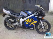 HONDA Nsr old blue