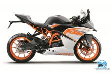 KTM RC 125 whiteT