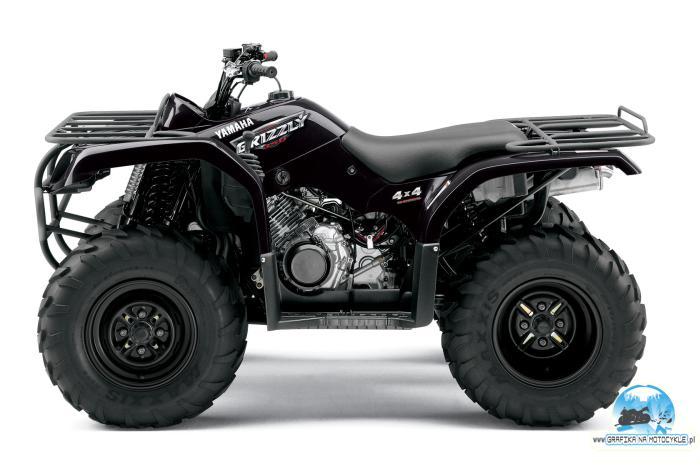 Grafika na motocykle yamaha grizzly 350 produkty for Yamaha grizzly 50